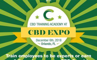 CBD Training Academy to Provide CBD Certification Classes in Orlando