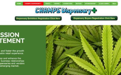 CBD Training Academy to Exhibit at Champs Dispensary Plus show in Las Vegas 2-27-19