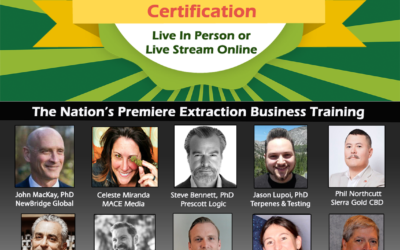 Extraction Business Certification Course Launched