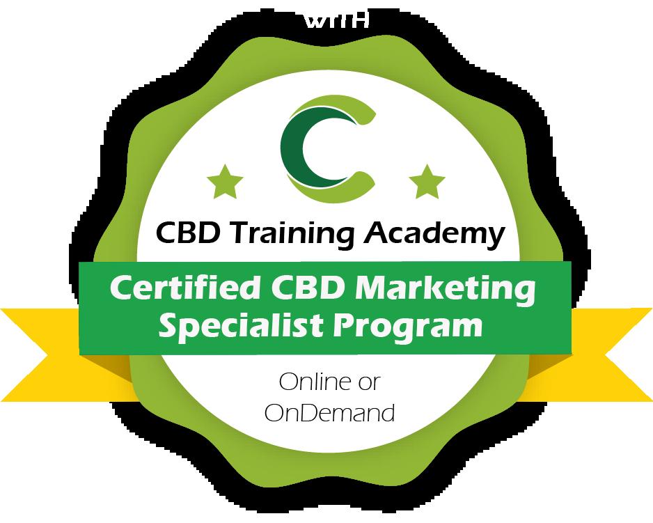 Certified CBD Marketing Specialist