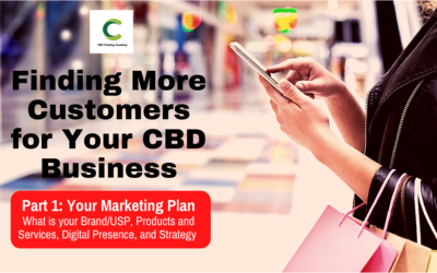 Finding More Customers for Your CBD Business Part 1: Your Marketing Plan