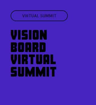 vision board virtual summit workshop