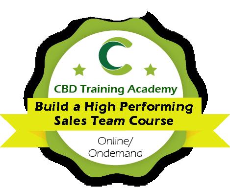 CBD Training Academy Certified CBD Marketing Specialist