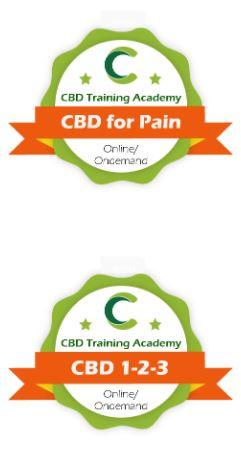 CBD 123 and CBD for Pain course bundle