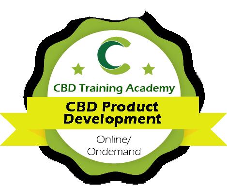 cbd training academy cbd product development course