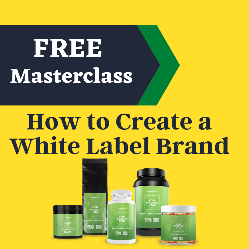 How to create a white label cbd product line