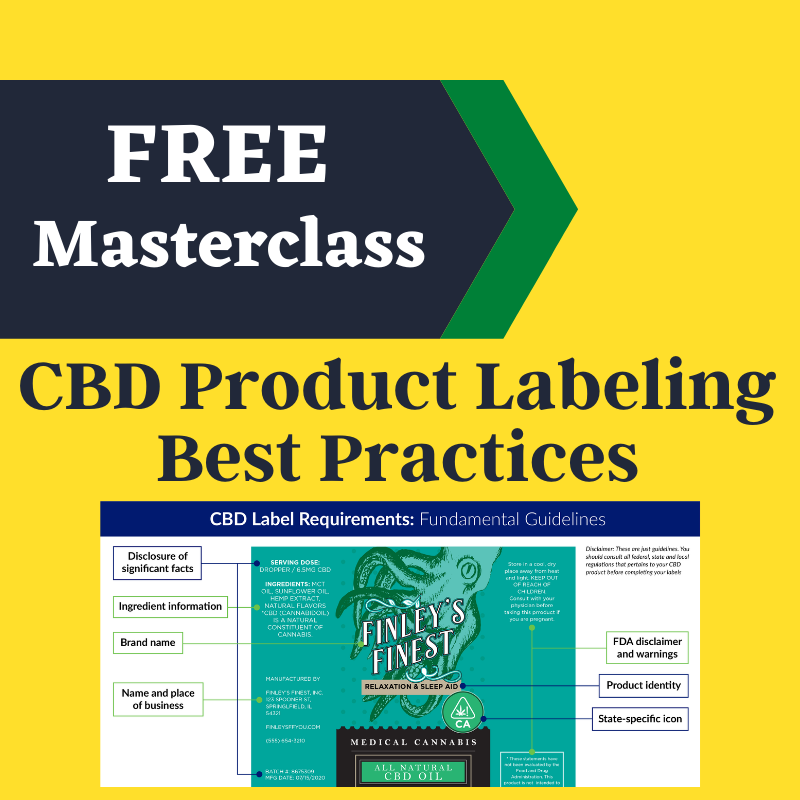 How to create compliant cbd product labels