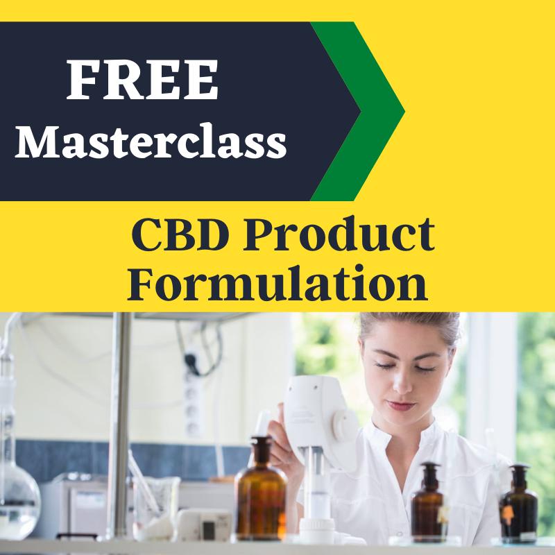 CBD Product Formulation class